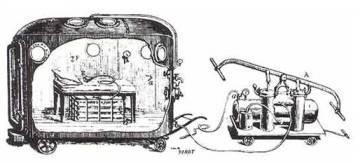 Fontaine mobil nyomáskamrában állított fel műtőt.