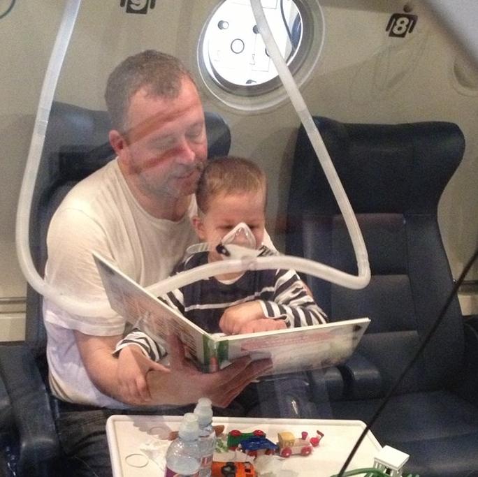 Titusz, CP kezelése oxigénterápiával